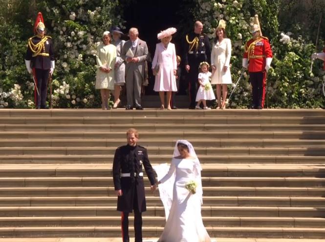 Фото №63 - Свадьба Меган Маркл и принца Гарри: как это было (видео, фото, комментарии)