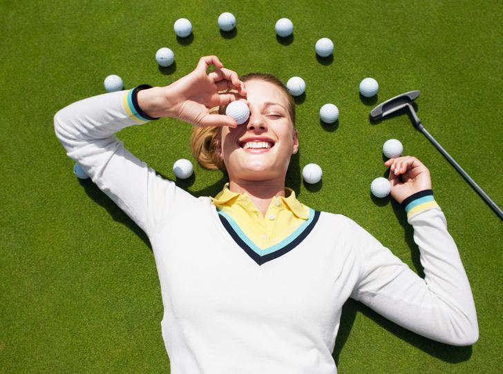 Фото №1 - Новый тренд: женский гольф