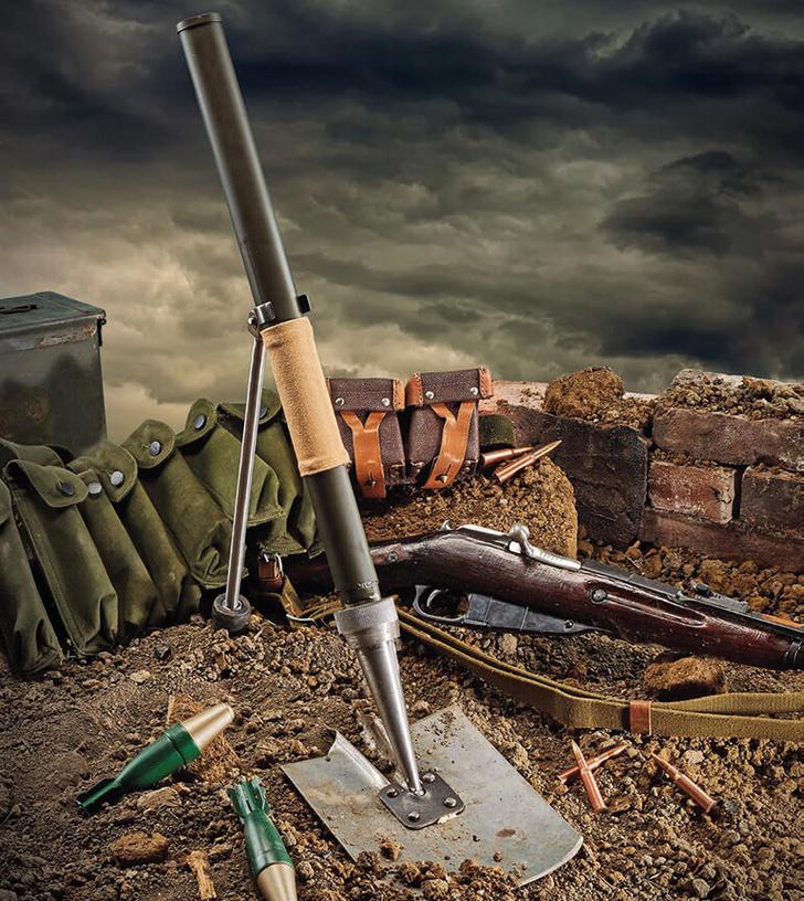 Фото №2 - «У русских и лопата стреляет…» История самого бесполезного советского оружия