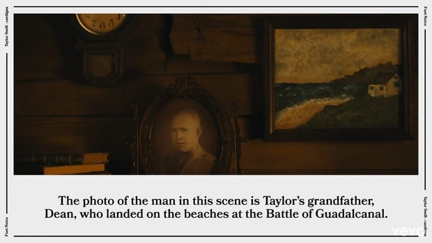 Фото №1 - Тейлор Свифт раскрыла все неожиданные пасхалки клипа «Cardigan»