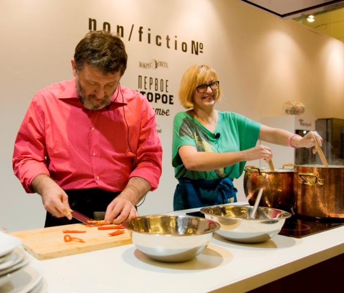 Фото №1 - Премьера журнала «Первое, второе, третье» на кулинарном non/fiction