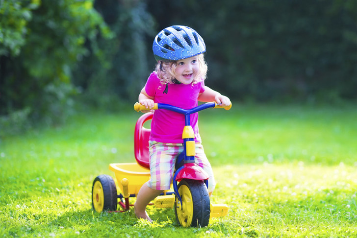 Фото №1 - Трехколесные велосипеды не так безопасны, как кажется