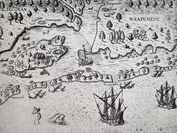 Фото №2 - Загадка Роанока: что случилось с колонией, бесследно изчезнувшей более 400 лет назад