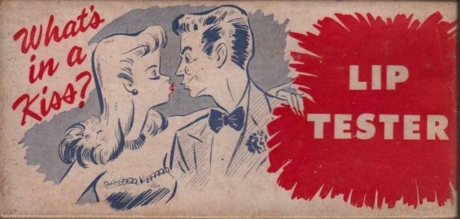 Фото №1 - Определи характер по отпечатку губной помады: довольно обидный тест для женщин из 1948 года