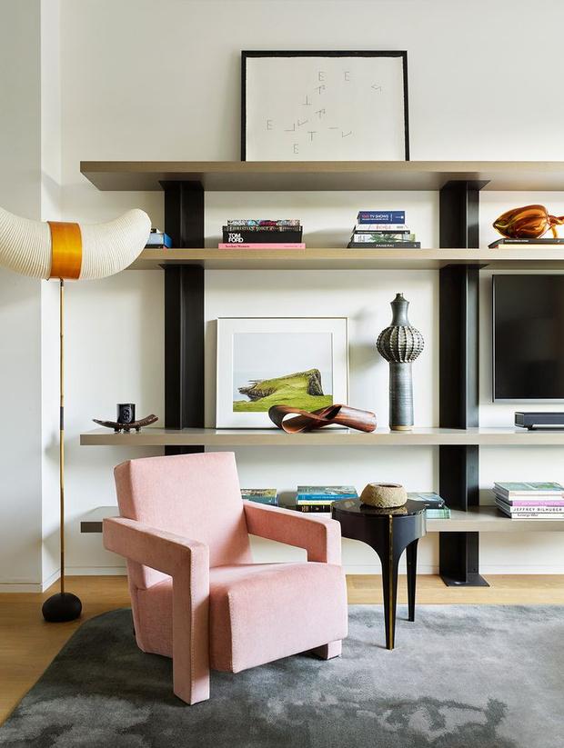 Фото №5 - Стеллаж в гостиной: лучшие идеи и решения