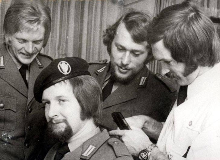 Фото №3 - Откуда в армии Бундесвера пошла мода на длинные волосы