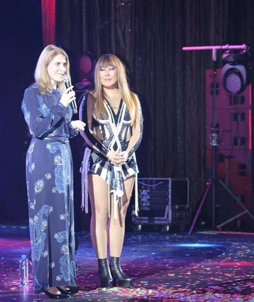 Надежда Болсуновская и Анита Цой
