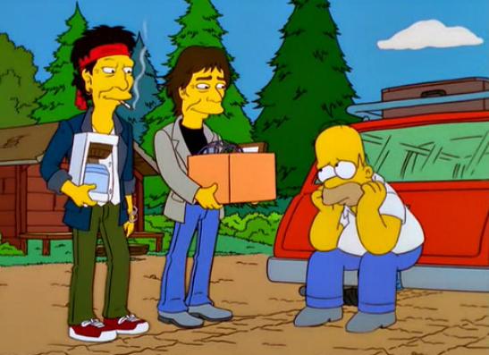 Фото №7 - 15 самых крутых пародий в «Симпсонах»