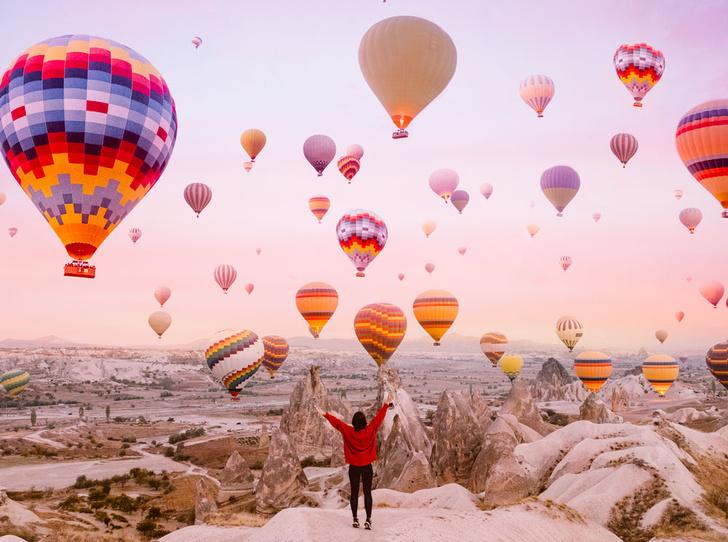 Фото №1 - Шесть лучших мест для полетов на воздушном шаре
