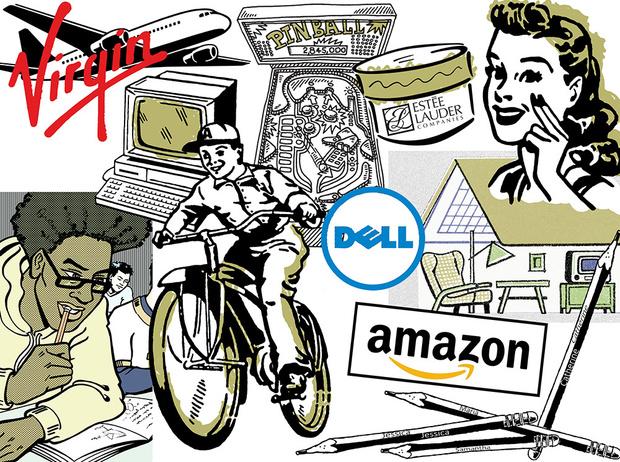 Фото №1 - Как зарабатывали в детстве создатели Amazon, IKEA и других успешных компаний