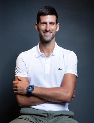 Фото №2 - Теннисист Новак Джокович— новый друг Hublot