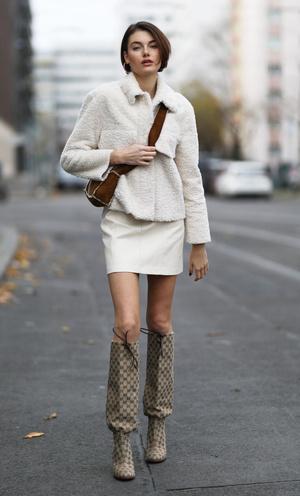 Фото №4 - Давайте короче: как носить мини в холодный сезон (и не рисковать здоровьем)