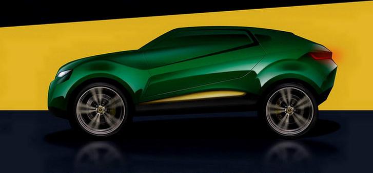 Фото №1 - Британский Lotus будет делать внедорожники из Volvo