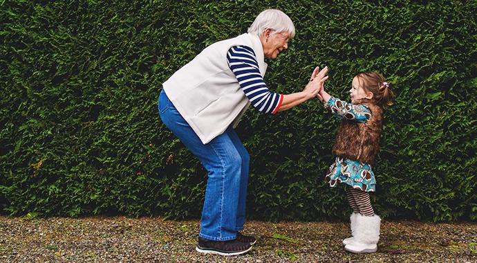 Когда бабушка становится соперником