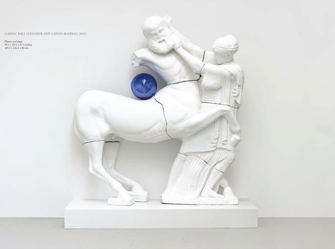 Фото №4 - «Джоконда» в гардеробной: Джефф Кунс переосмыслил шедевры живописи для Louis Vuitton