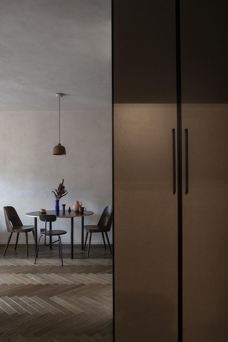 Фото №5 - Квартира 45 м² с винтажной мебелью в Гданьске