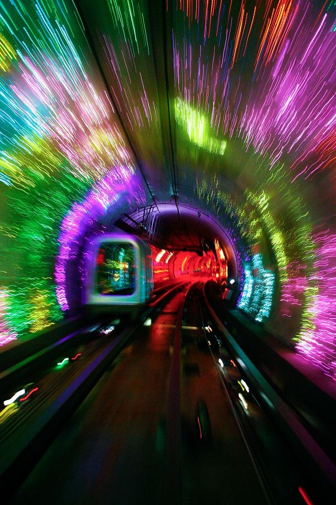 Bund Sightseeing Tunnel, Шанхай