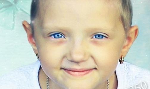 Фото №1 - Вы можете помочь спасти шестилетнюю Соломию от рака