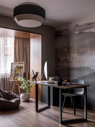 Фото №9 - Серый + горчица: уютная квартира 108 м² в Самаре