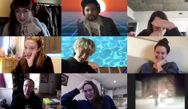 Фото №1 - Режиссер фильмов ужасов разыграл своих друзей в Zoom (видео)