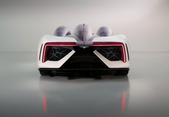 Фото №2 - Techrules Ren: гибридный суперкар с дизельными газотурбинными двигателями