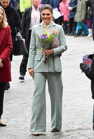 Фото №11 - Кейт Миддлтон и принц Уильям в Швеции: день второй