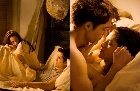 Секс в постели первая брачная ноч