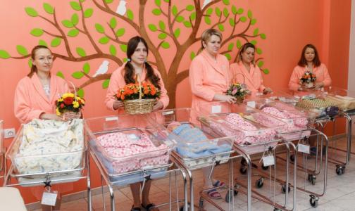Фото №1 - В петербургском роддоме за неделю родились шесть пар двойняшек