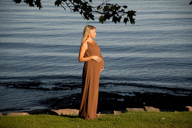 Фото №1 - Счастлива, потому что беременна… в Норвегии!