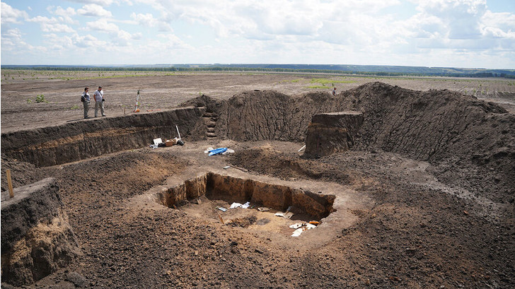 Фото №1 - Под Воронежем археологи обнаружили останки скифского воина
