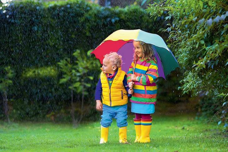 Фото №1 - Почему дождь иногда льет, а иногда моросит?