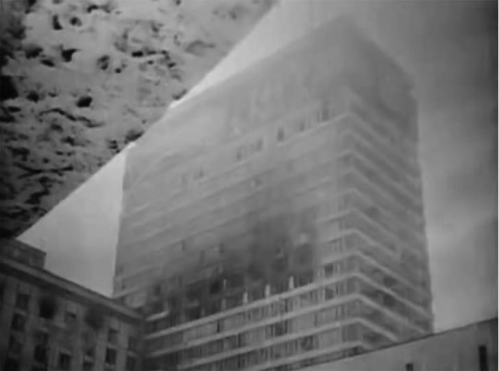 Фото №2 - Грандиозный пожар в гостинице «Россия» 25 февраля 1977 года