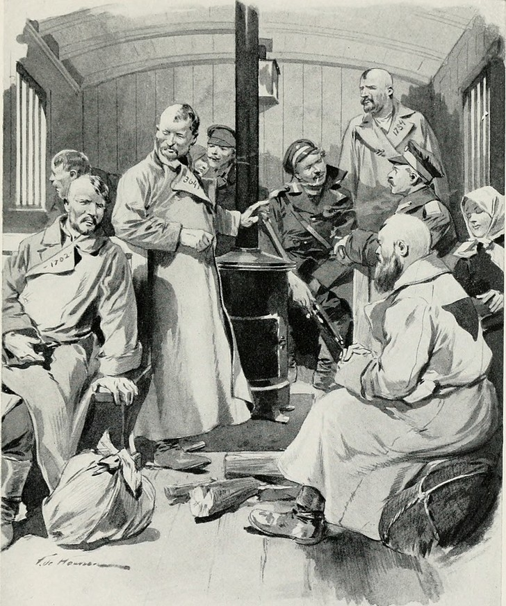 Фото №1 - Лжеимператор, поручик-бунтовщик, ссыльный песенник: три дерзких побега с каторги