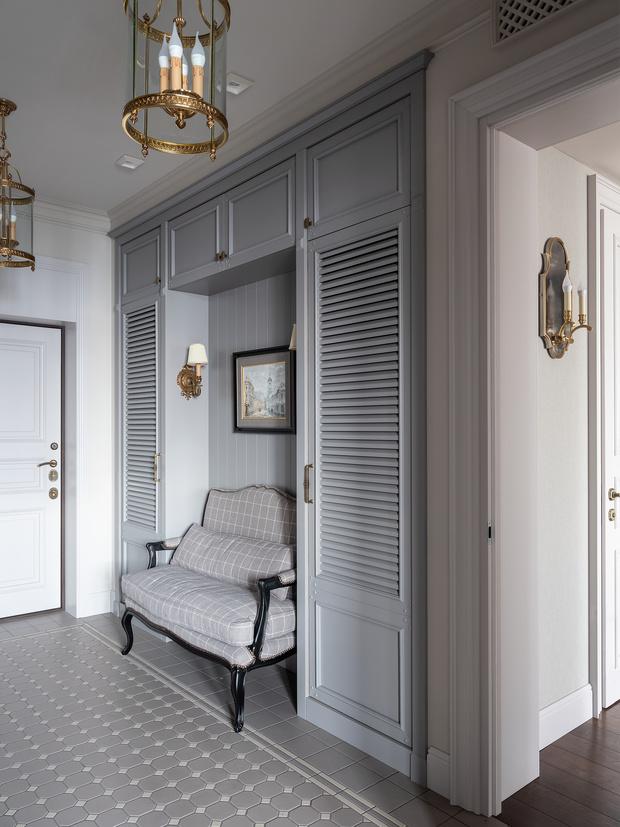 Фото №4 - Светлая классическая квартира 59 м² в Москве