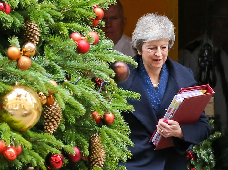 Фото №9 - Праздничное убранство резиденций королей и президентов в ожидании Рождества и Нового года
