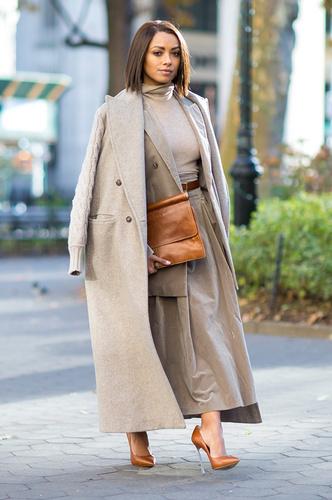 Как носить юбку зимой: фото