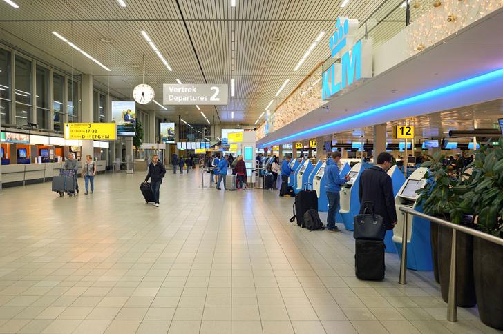 Фото №1 - Аэропорт Амстердама планирует отказаться от классической проверки паспортов