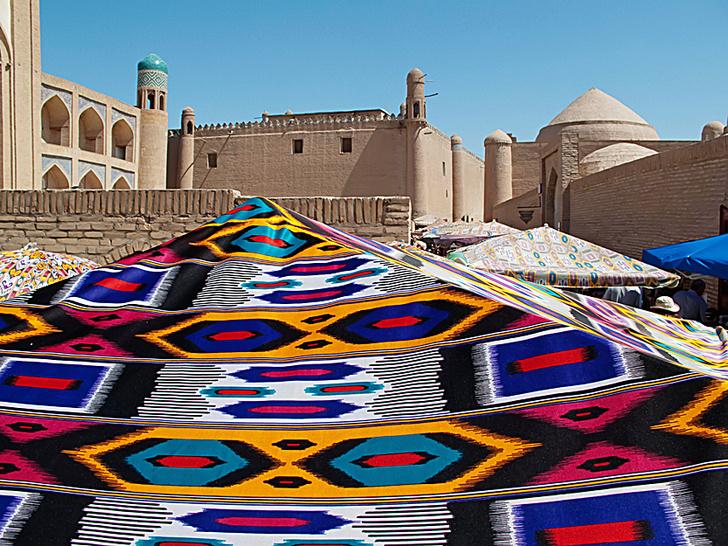 Фото №1 - Круговой обзор: абрбанди, Узбекистан