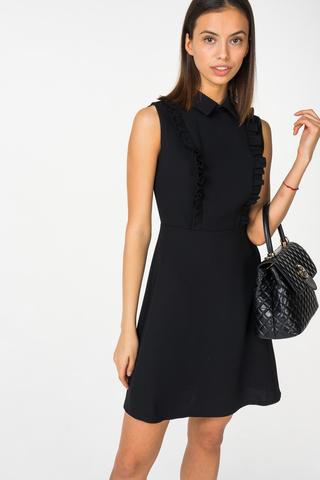 2e2975701813b9c Купить недорогое черное платье - модели до 3000 рублей — www.wday.ru
