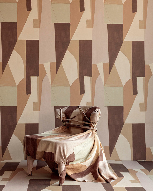 Ткань District, дизайн Келли Уэстлер для Lee Jofa.