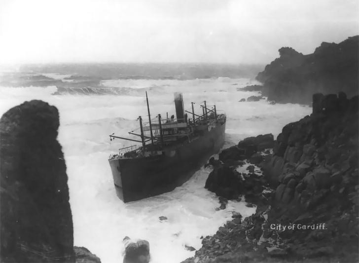 Фото №12 - Не повезло: старинные фотографии кораблекрушений