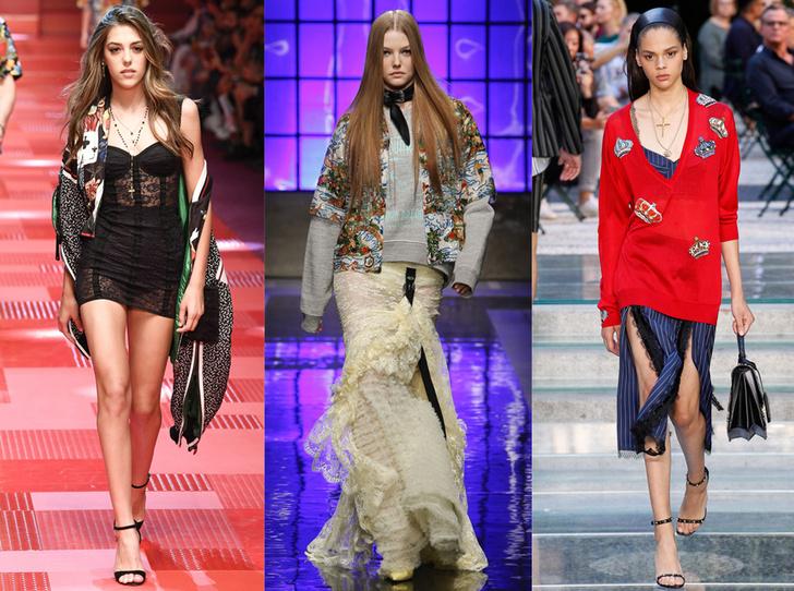 Фото №1 - Ищите женщину: женские образы на миланской неделе мужской моды
