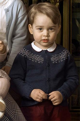 Фото №6 - Первая фотосессия: принцесса Шарлотта и принц Луи