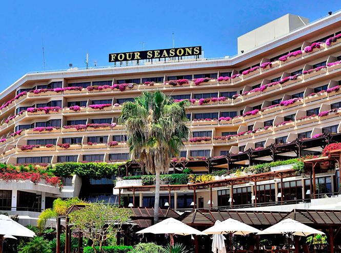 Фото №1 - Неделя мороженого в отеле Four Seasons на Кипре