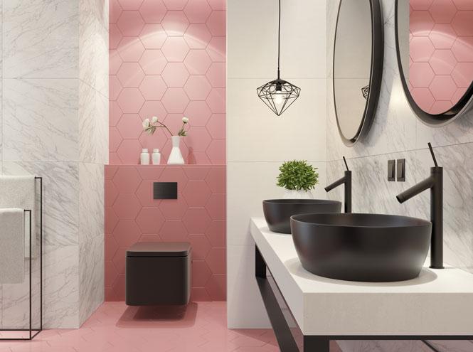 Фото №1 - От золота до дерева: 4 оригинальных идеи дизайна ванной комнаты