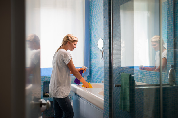 как отмыть ванну