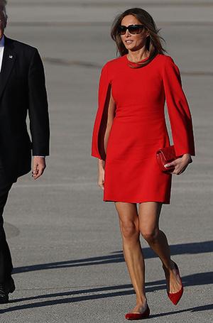 Фото №7 - Мелания Трамп: новые стандарты стиля Первой леди