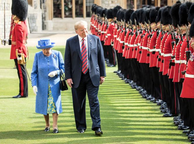 Фото №6 - Какие рекомендации королевские эксперты дали Дональду Трампу