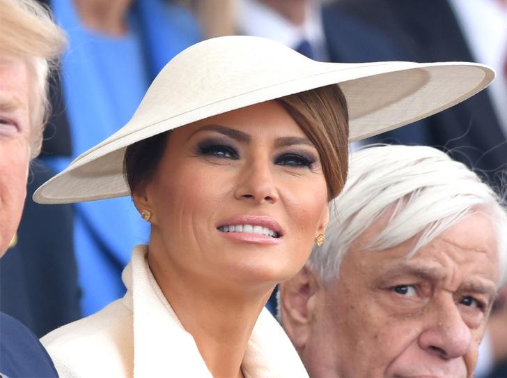 Фото №1 - Секрет шляпы Мелании Трамп: что хотела сказать Первая леди США?