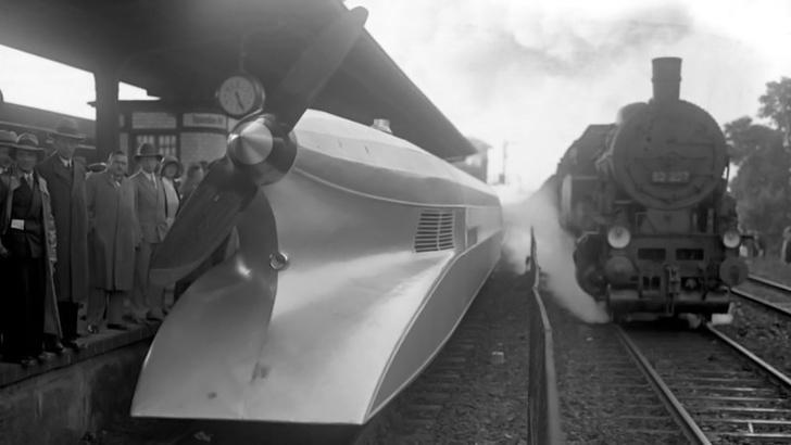 Фото №1 - История одной фотографии: «Рельсовый Цеппелин», июнь 1931